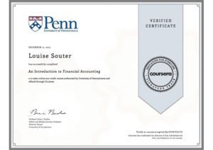 Introduction to Financial Accounting Certificate